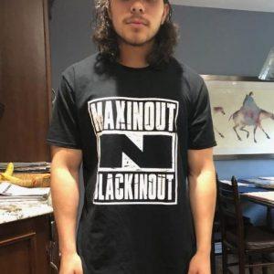 MaxinOut N BlackinOut T-shirts Compton Style
